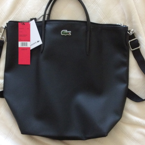 f79b80b7f8 Lacoste Handbags - Lacoste Vertical Bag With Strap